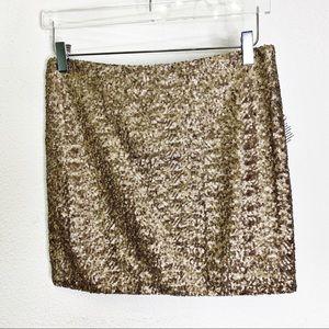 NWT Jeans by Buffalo Sequin Mini Skirt